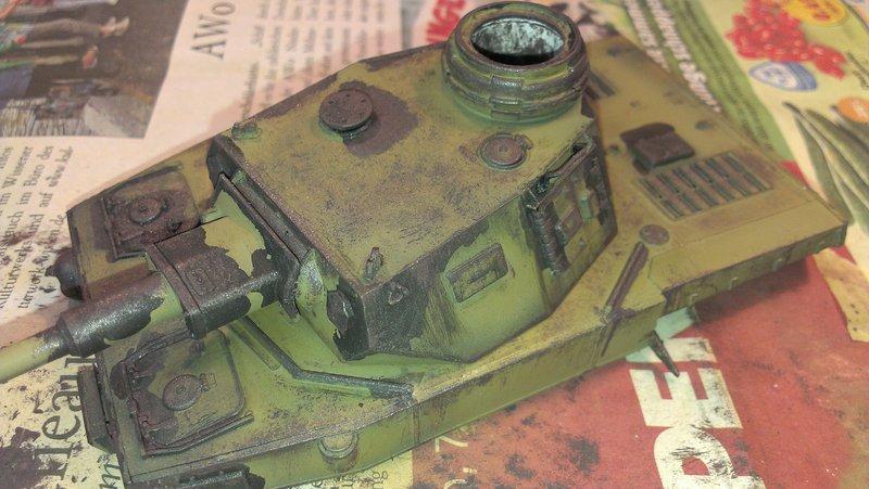 Panzerbunker aus Resten 19481462kj