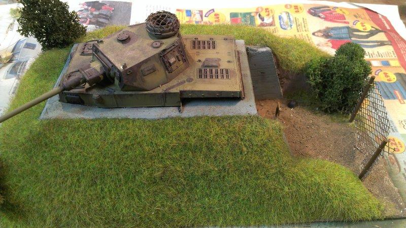 Panzerbunker aus Resten 19483501ze