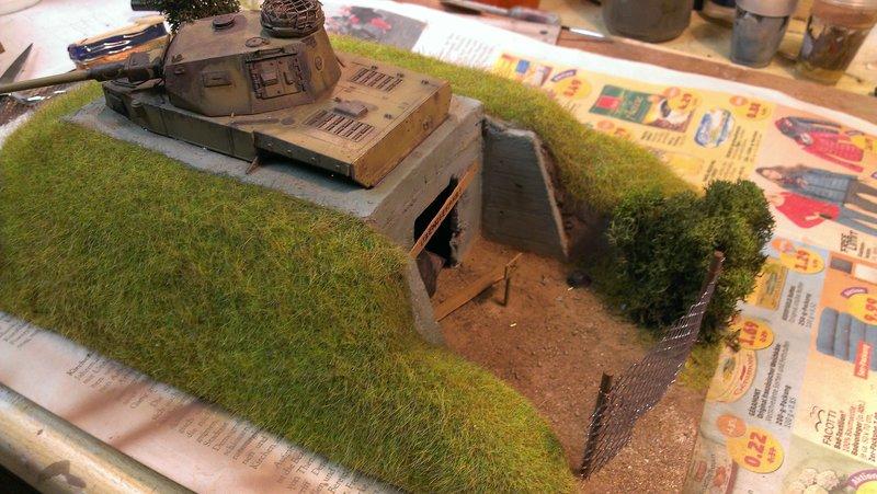 Panzerbunker aus Resten 19483504ag