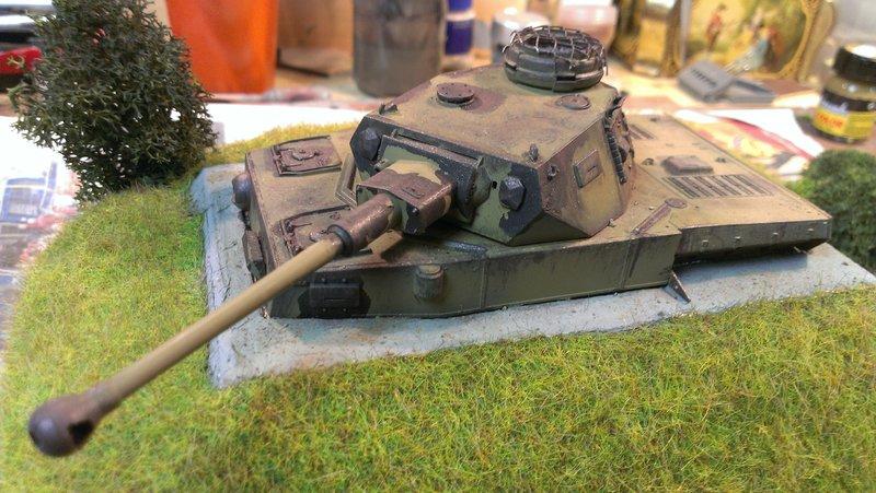 Panzerbunker aus Resten 19483505qr