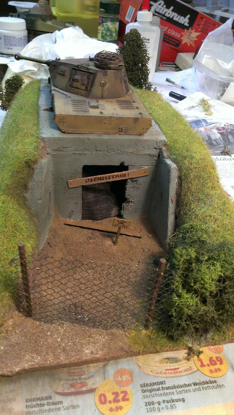 Panzerbunker aus Resten 19483511yu