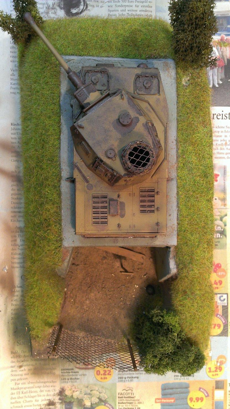 Panzerbunker aus Resten 19483535kl