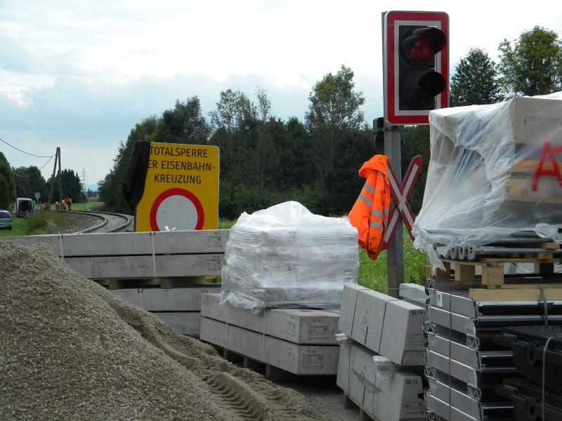 Mattigtalbahn: Bauarbeiten September 2014  19573362mn