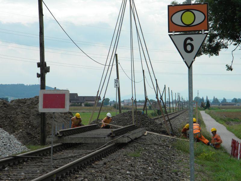Mattigtalbahn: Bauarbeiten September 2014  19573368fn
