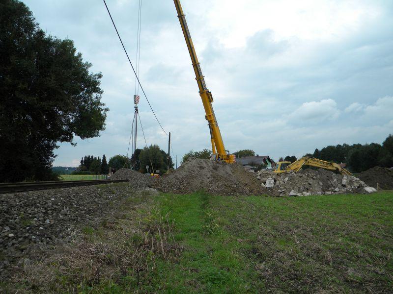 Mattigtalbahn: Bauarbeiten September 2014  19573377im