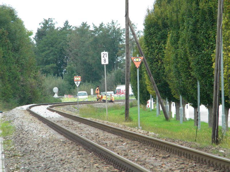 Mattigtalbahn: Bauarbeiten September 2014  19573382hz