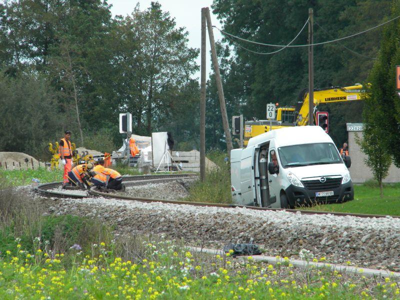 Mattigtalbahn: Bauarbeiten September 2014  19573383cm
