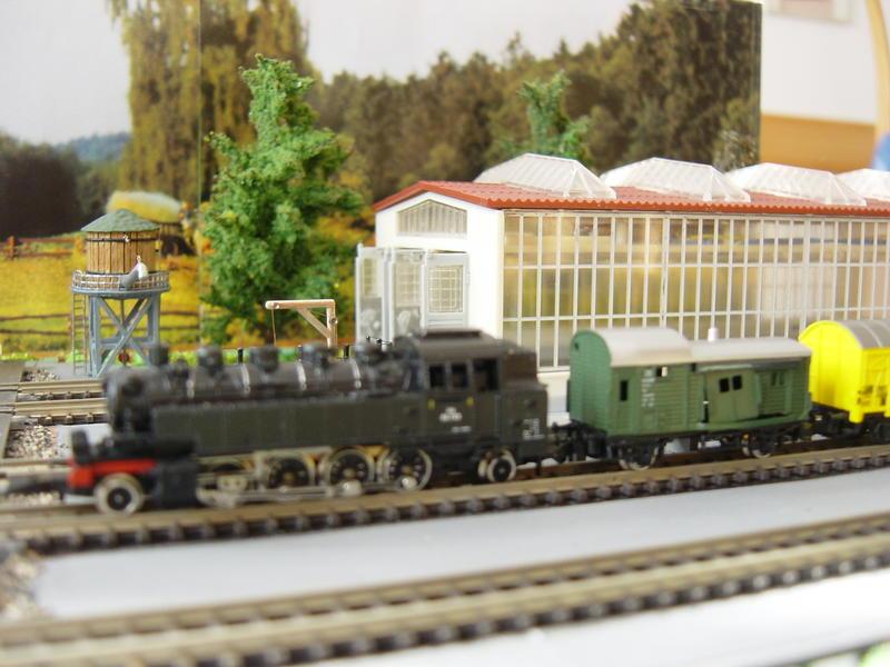 BR 86 ÖBB mit Güterwagen (Spur Z) 19665763ja