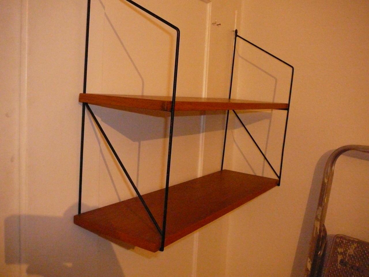 altes nissen string regal original teak in aarau kaufen bei. Black Bedroom Furniture Sets. Home Design Ideas