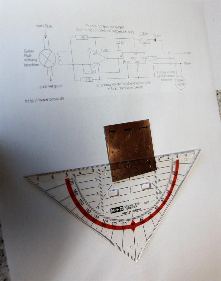 Der Eigenbau Spritmesser - Schlauchbootforum
