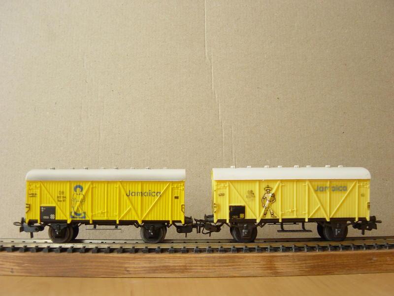 """Bananenwagen """"Jamaica"""" (MÄRKLIN) 19870730fs"""
