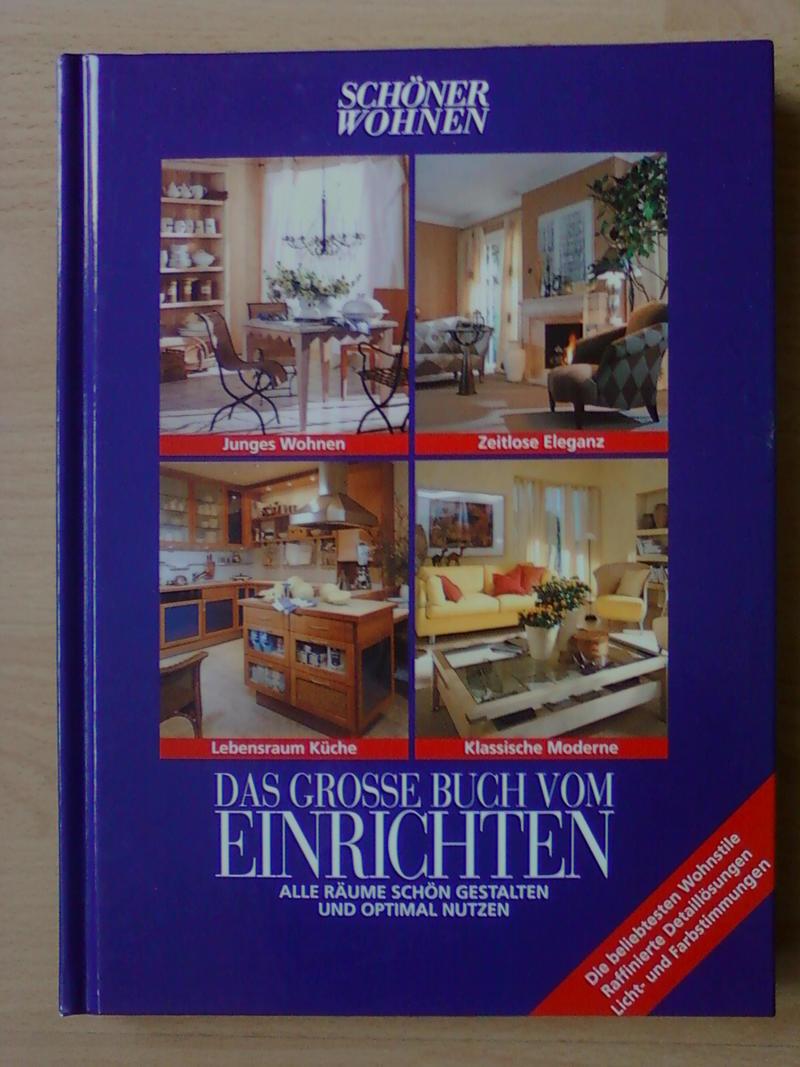 sch ner wohnen das gro e buch vom einrichten 362511500x ebay. Black Bedroom Furniture Sets. Home Design Ideas