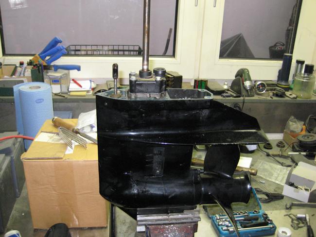 zeigen wie mann bootmotoren 1 2ps repariert