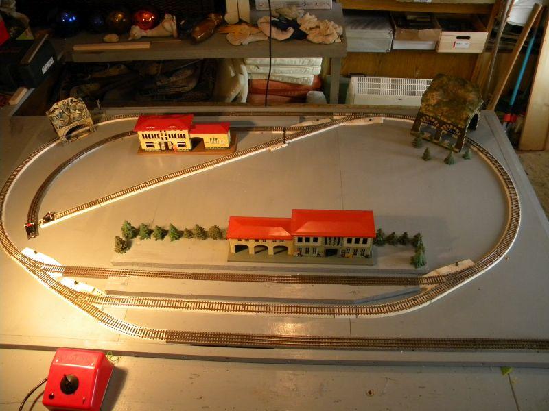 Kleinbahn Transportable Nostalgische Anlage 19990805of