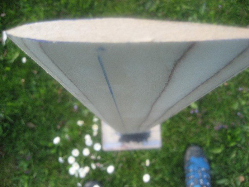 Kitehydrofoil Wood Carbon