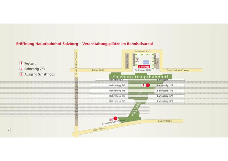Salzburg Hauptbahnhof - Wiedereröffnung am 07.11.2014 nach Generalsanierung  20051126qb