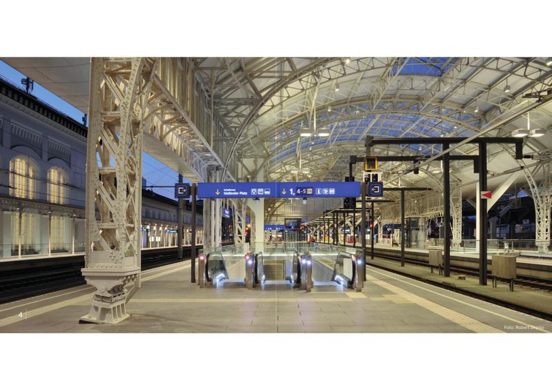 Salzburg Hauptbahnhof - Wiedereröffnung am 07.11.2014 nach Generalsanierung  20051129ym