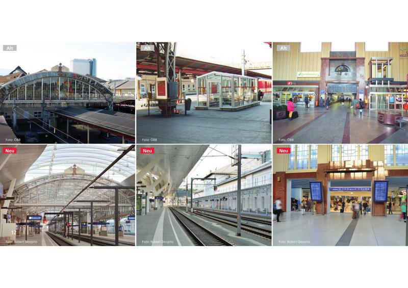 Salzburg Hauptbahnhof - Wiedereröffnung am 07.11.2014 nach Generalsanierung  20051182ej