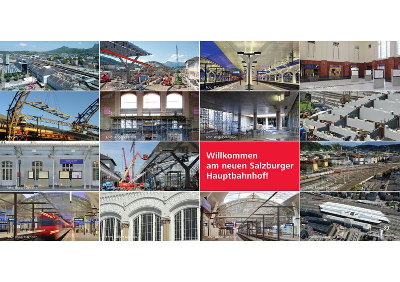 Salzburg Hauptbahnhof - Wiedereröffnung am 07.11.2014 nach Generalsanierung  20051186ux