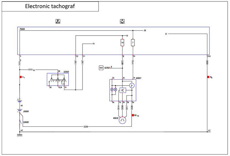Tacho Signal, Geschwindigkeitsgeber Stromlaufplan - Viermalvier.de ...
