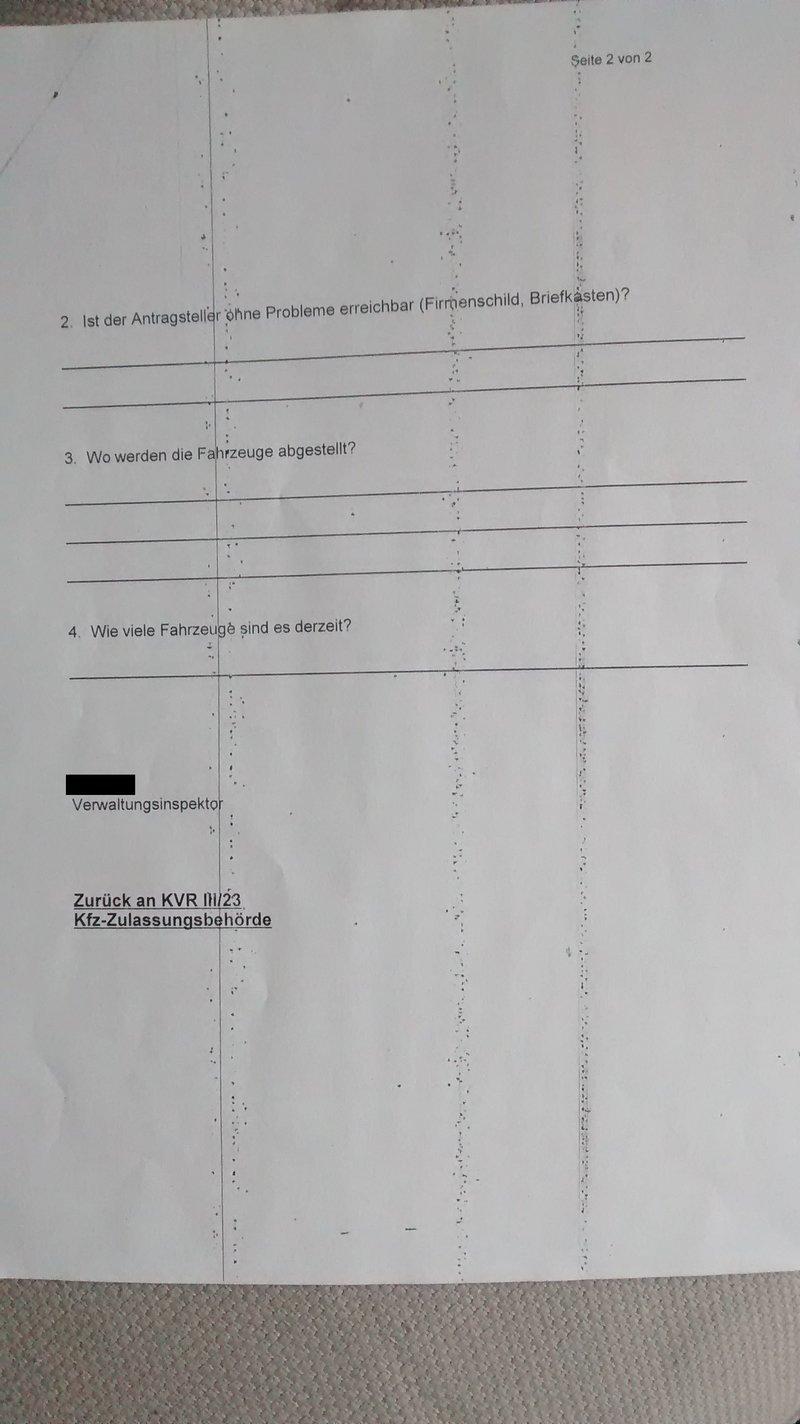 Zuteilung Händlerkennzeichen Verkehrstalk Foren