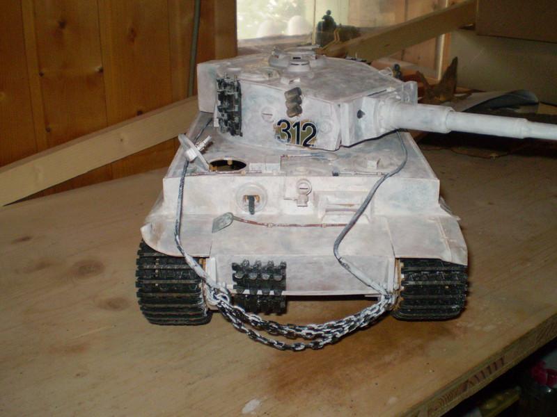 Initial Tiger Nr. 3  s.P.z.Abt.502 Mishkino Feb. 1943  1:16 20173009ok
