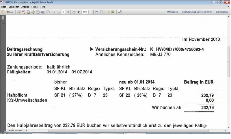 kfz versicherung frontera b was zahlt ihr opel isuzu 4x4 forum. Black Bedroom Furniture Sets. Home Design Ideas