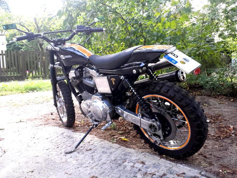 Gibt Es Harley Davidson  Auch Mit Kettenantrieb