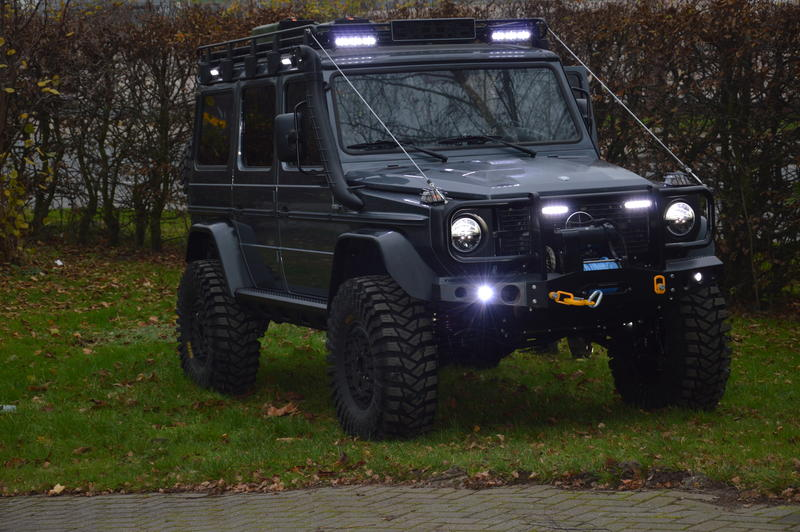 My new g wagen with portals pirate4x4 com 4x4 and for Mercedes benz g class off road