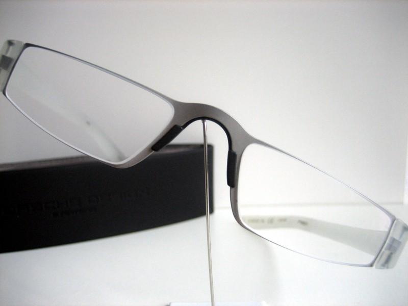 porsche design brille lesebrille lesehilfe p8801 silber. Black Bedroom Furniture Sets. Home Design Ideas