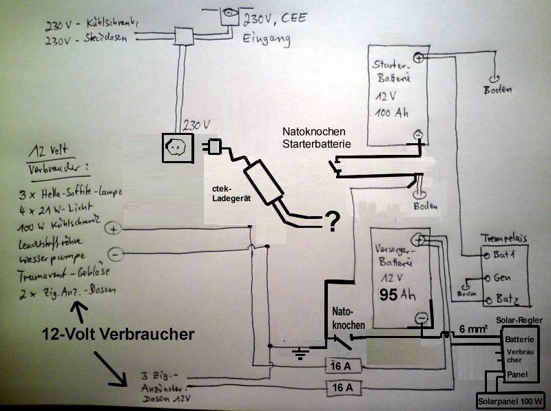 Fantastisch 12v Generator Schaltplan Ideen - Die Besten Elektrischen ...