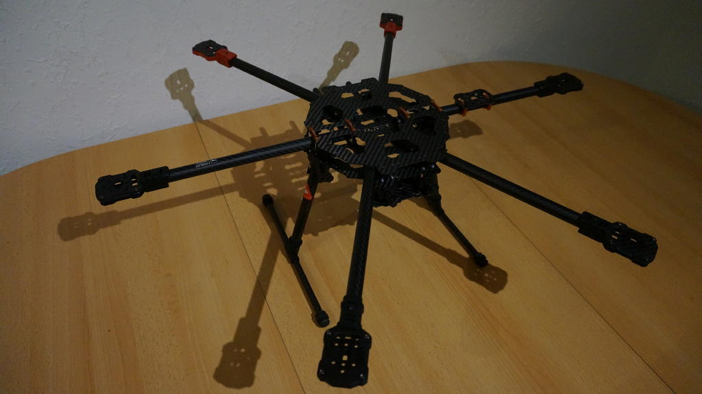 Tarot Iron Man FY690S Hexacopter Rahmen (klappbar) | FPV-Community.de