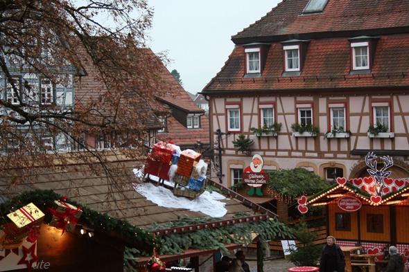 Schöner Weihnachtsmarkt