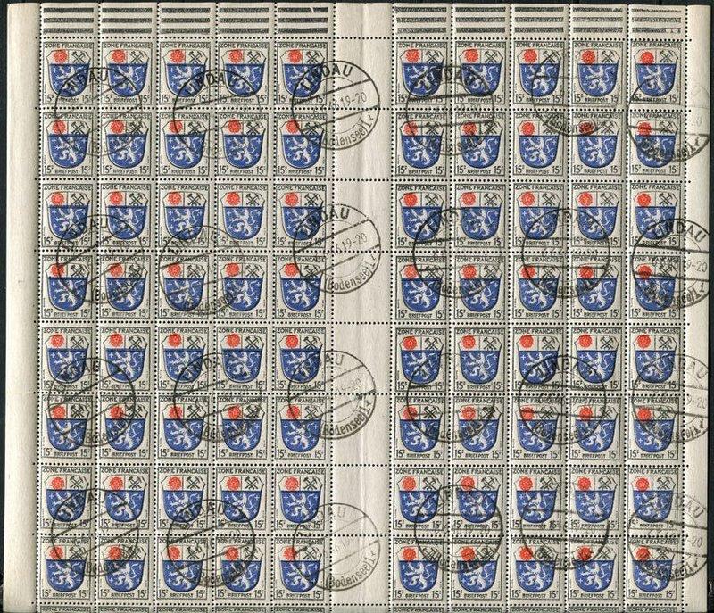 Zone - franz. Zone, Allgemeine Ausgabe/Wappen 20465080il