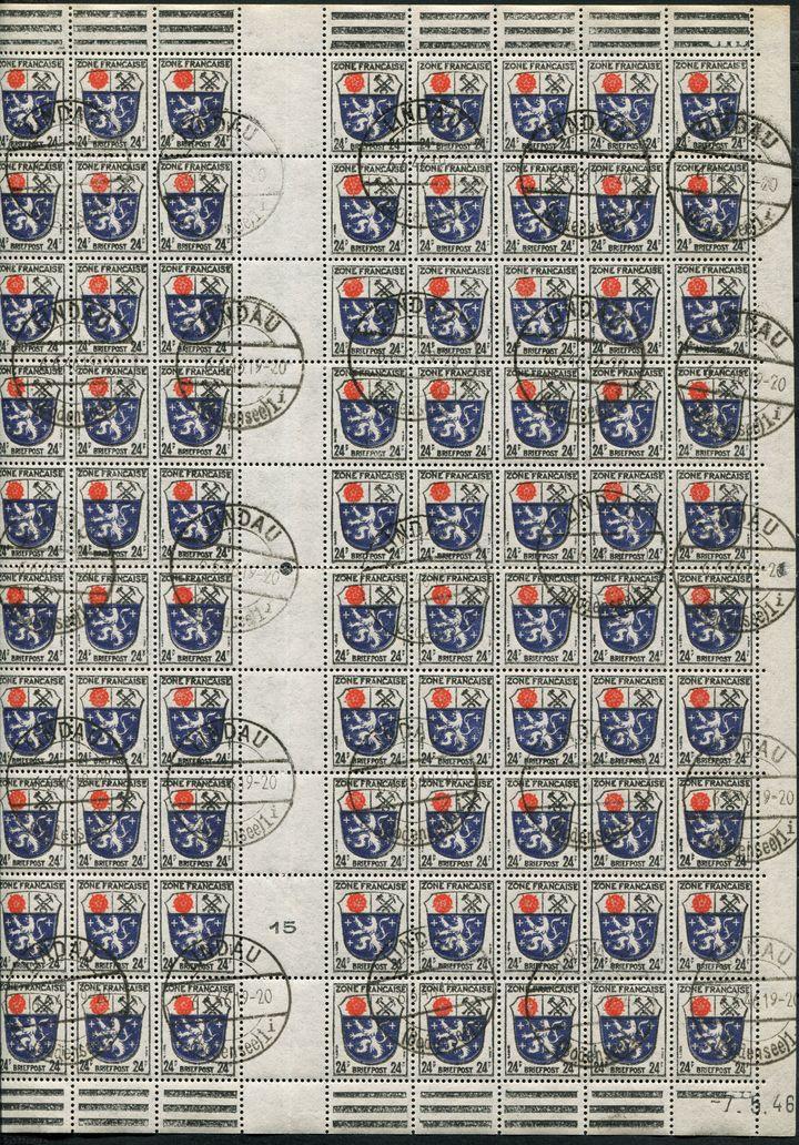 Zone - franz. Zone, Allgemeine Ausgabe/Wappen 20465117vv