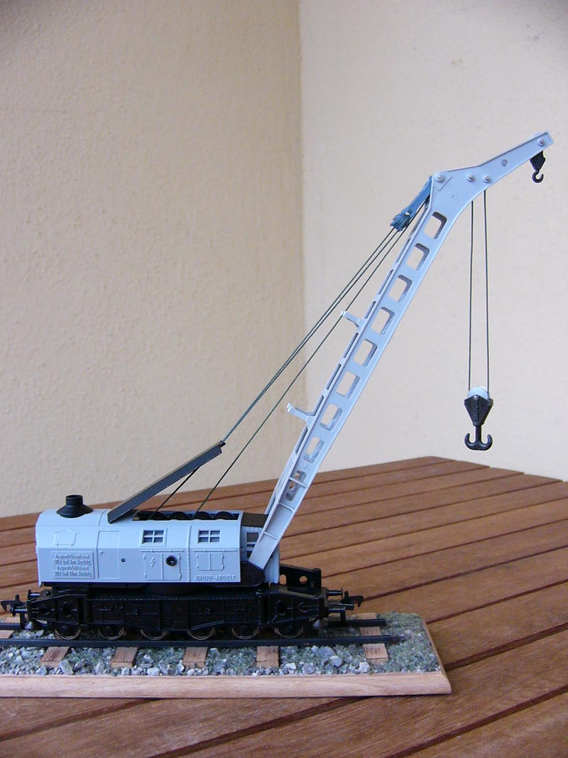 GFN Kran 1495- Seiltrommel-Reparatur
