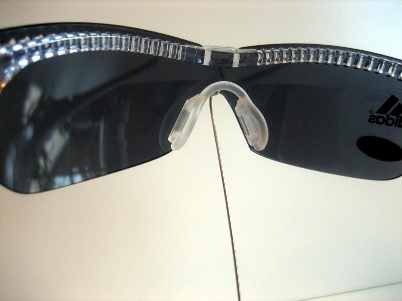 adidas a145 6050 l skibrille sonnenbrille clip f r. Black Bedroom Furniture Sets. Home Design Ideas