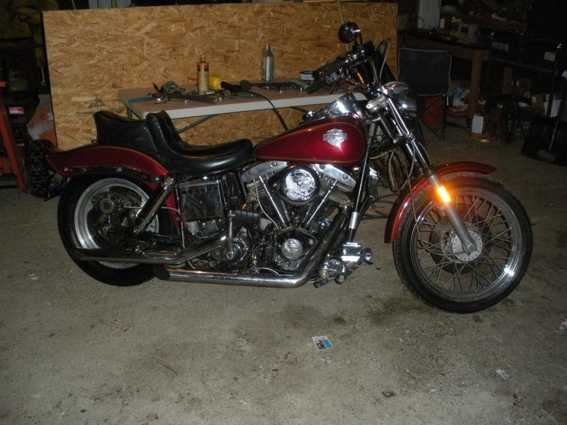76er shovelhead FXE - Harley-Davidson Board