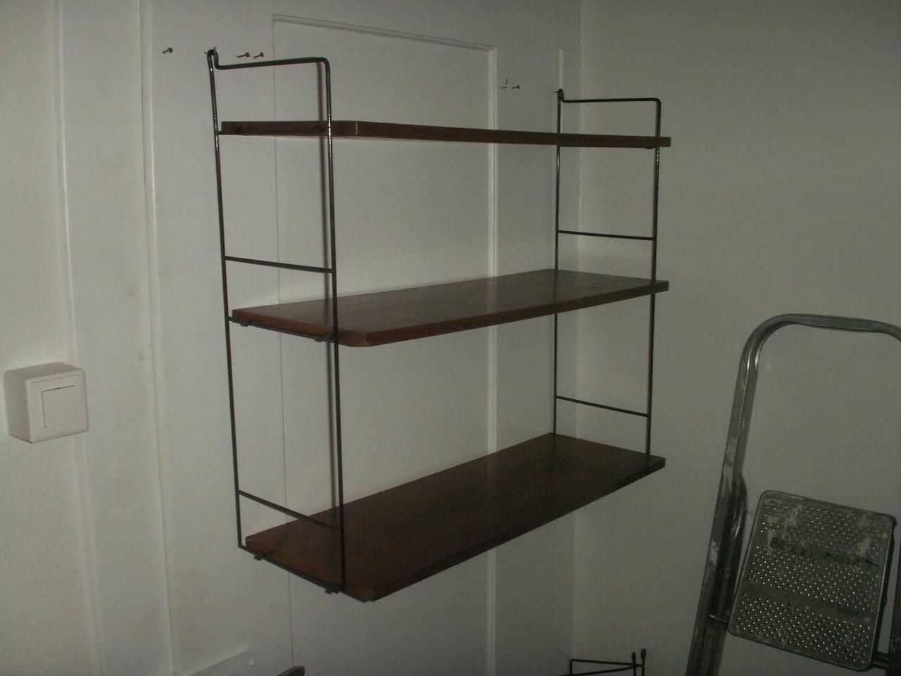 nissen string regal 50er 60er jahre teak in aarau kaufen. Black Bedroom Furniture Sets. Home Design Ideas