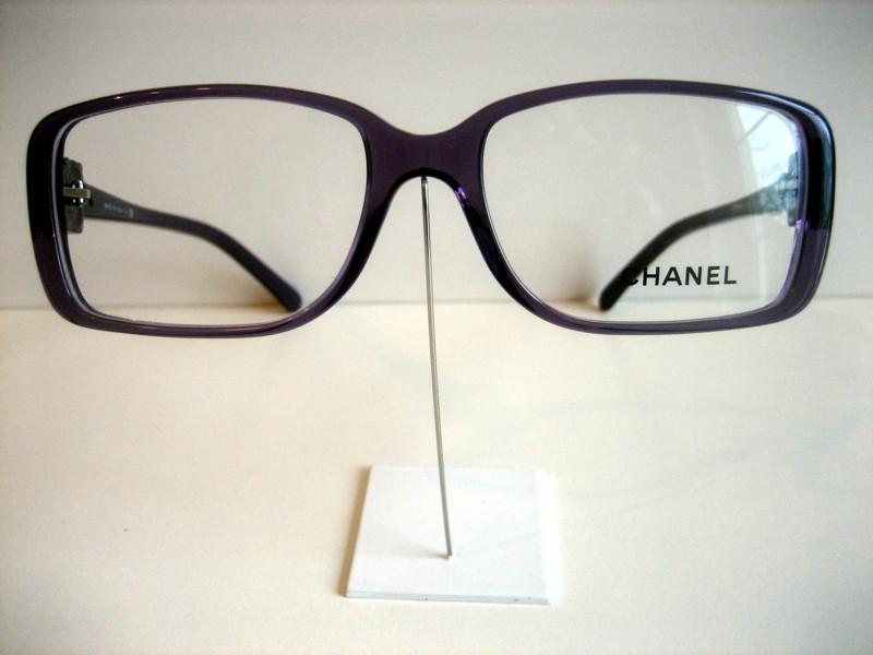 chanel damen brillenfassung brille mod 3185 fb 1121 lila. Black Bedroom Furniture Sets. Home Design Ideas