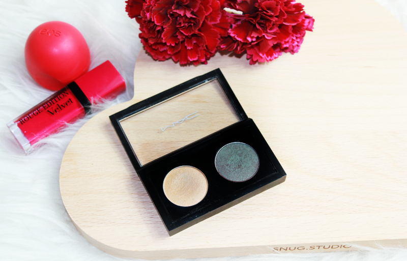 MAC Lidschatten Duo CLUB/ RICEPAPER Review  + AMU