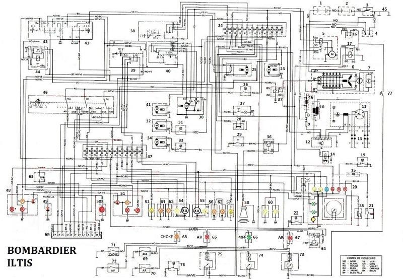 schaltplan bombardier ii. Black Bedroom Furniture Sets. Home Design Ideas