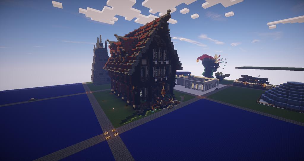 Aufwertung des mittelaltergebiets eine mittelalterliche - Minecraft projekte ...