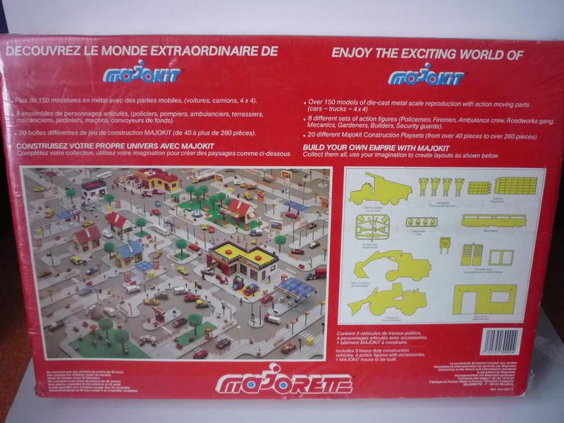 Coffret Travaux Publics / Super Builders Set  (from 1985 to 1986) 20837126yq