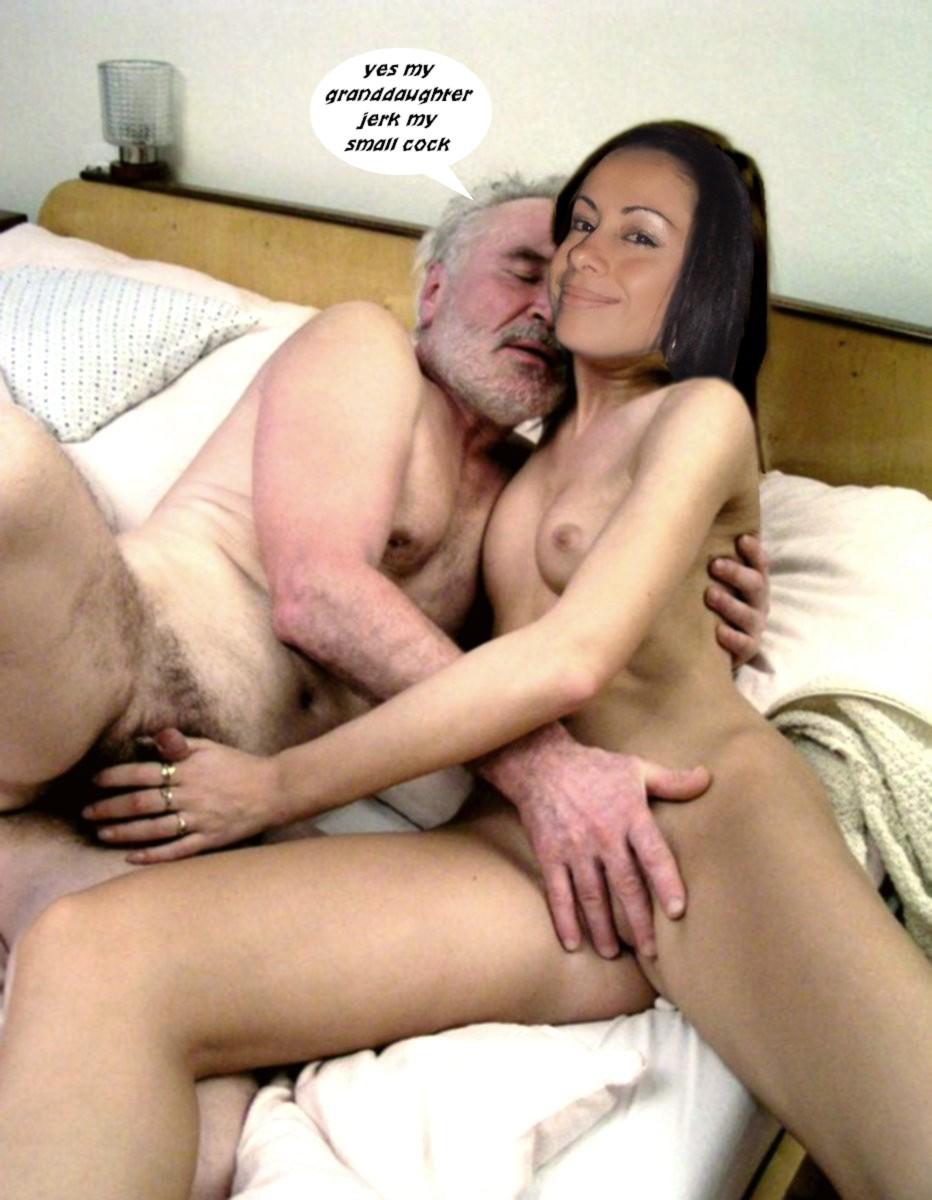 Порно куни инцес деда