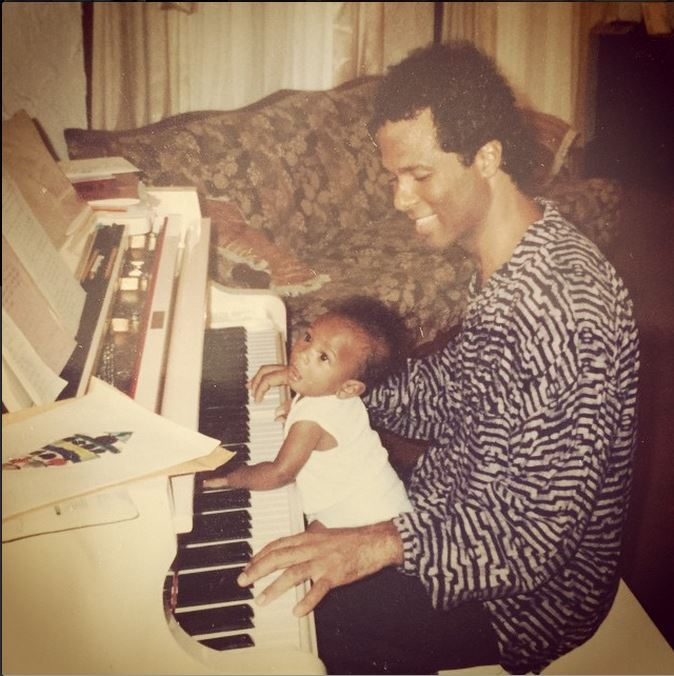 Philip michael thomas his kids start to show some family images
