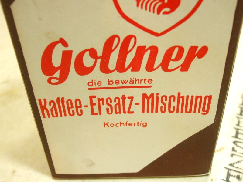 kaffee gollner ration ersatz mischung wehrmacht verpflegung marketenderware ebay. Black Bedroom Furniture Sets. Home Design Ideas