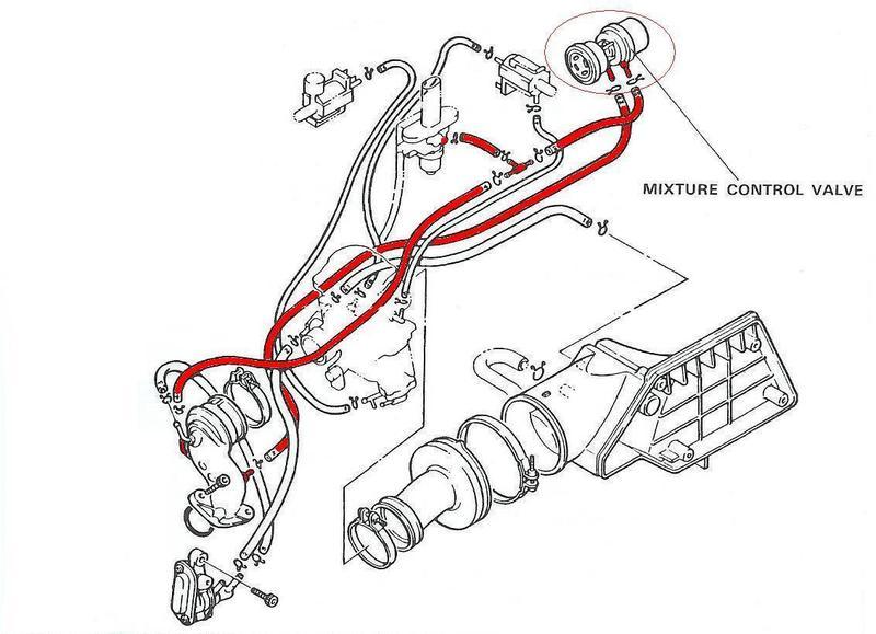 Cr on 150cc Scooter Vacuum Line Diagram