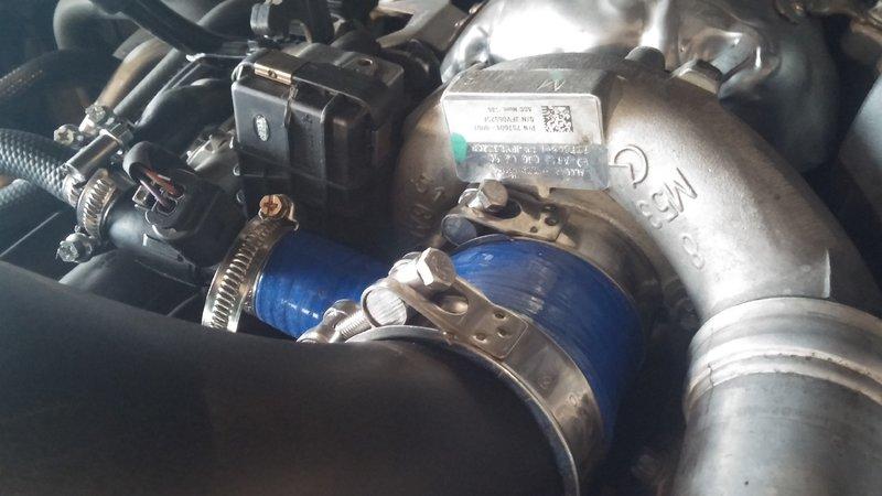 Wk Crd Oil Leaking Near End Of Intake Pipe Jeepforum