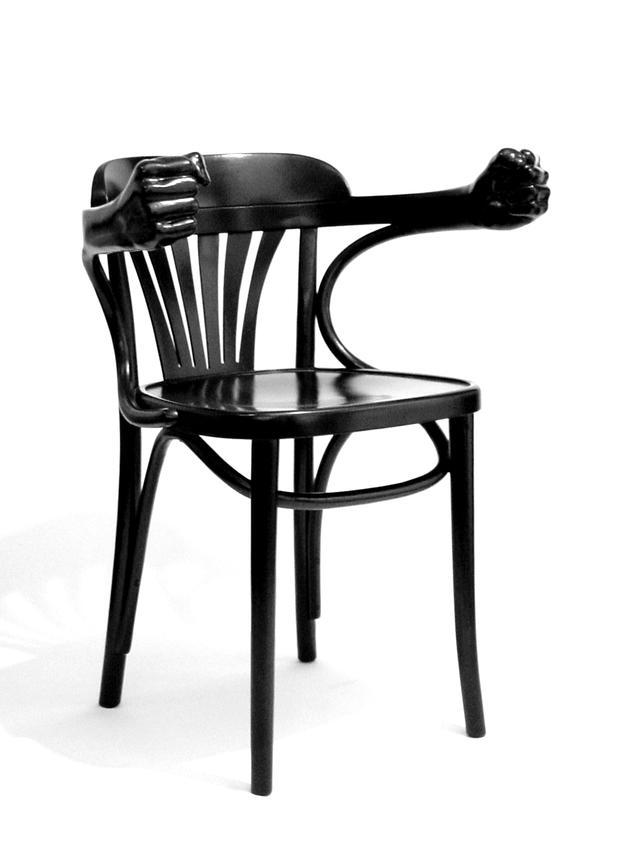 Bugholzstuhl bugholz kaffeehaus stuhl sm dada kunst objekt for Stuhl design kunst